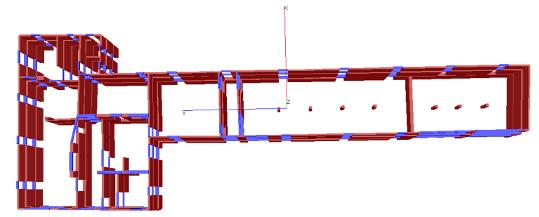 Progetto esecutivo strutturale, Direzione Lavori Architettonica e Strutturale e Responsabile Sicurezza di n°4 edifici in struttura in muratura portante.
