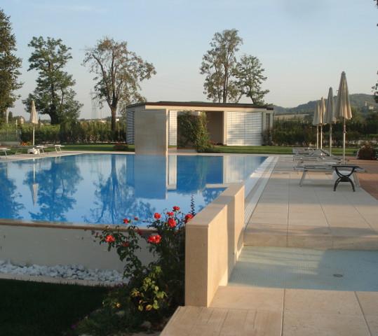 Realizzazione area esterna per villa unifamiliare